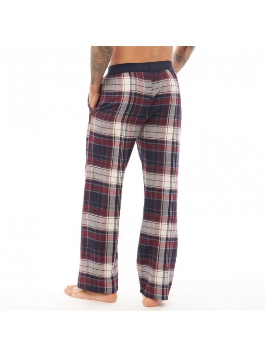 French Connection Mens Fc Lounge Flannel Pants Multi Chateaux