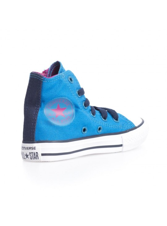 Converse Junior CT Side Zip Hi Blue