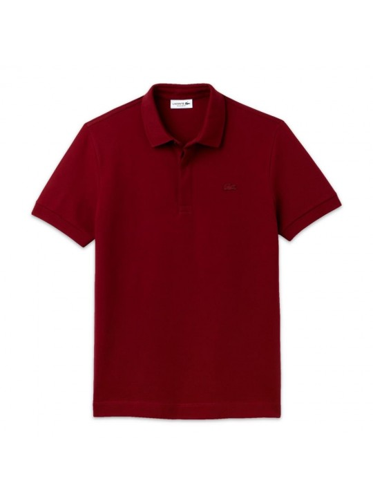 Lacoste PH5522 Colour Croc Bordeaux Polo Shirt