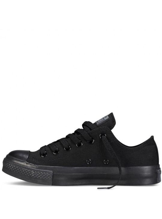 Converse Unisex Chuck Taylor All Star Low Tops Black Mono  Trainers