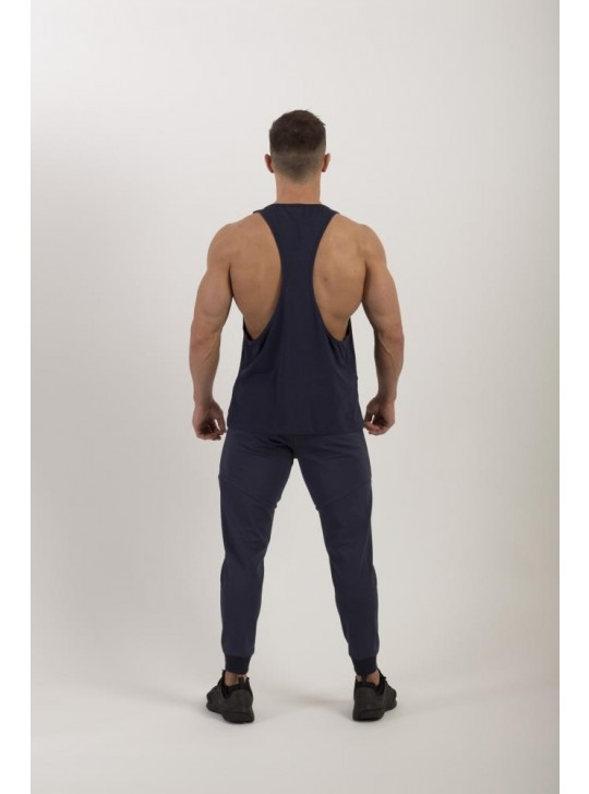 Feed The Gains FTG Men's Loose Muscle Vest - Navy