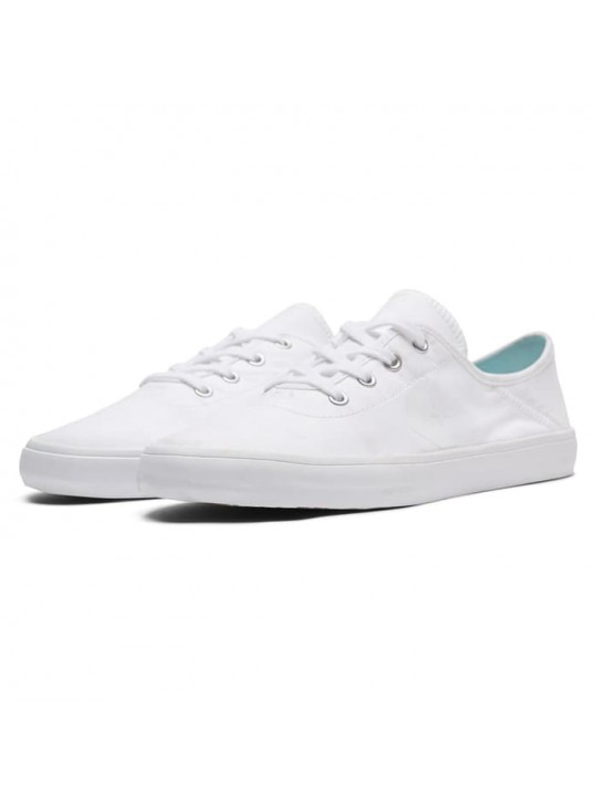 Converse Womens Costa Peached OX White Canvas Trainers