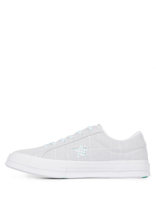Converse One Star Chambray Dots-pure platinum