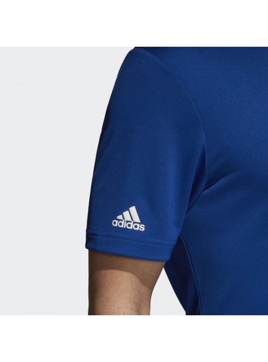 Adidas Men's Performance Collegiate Royal Short Sleeve Polo