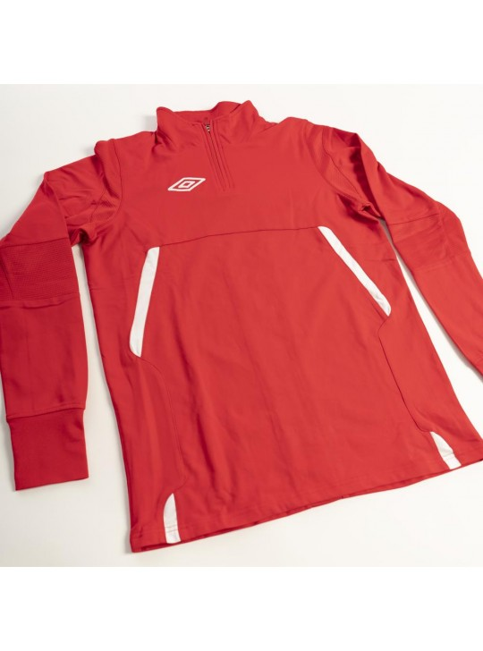 umbro Pro-Training 1/2 Zip Red/White
