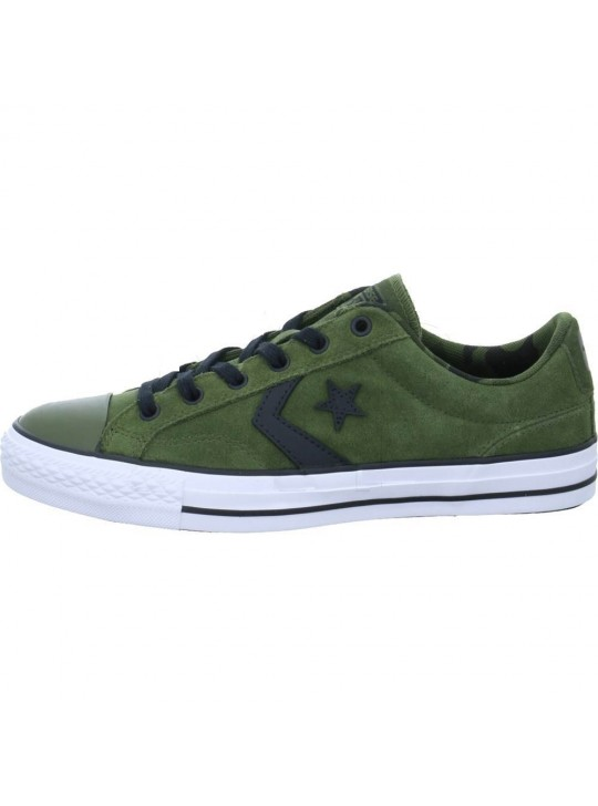 Converse Star player Camo Suede Green