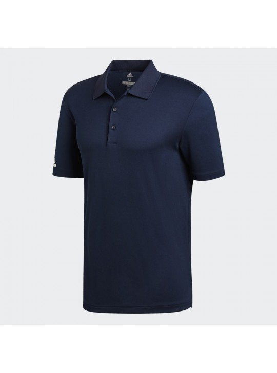 Adidas Men's Performance Collegiate Navy Short Sleeve Polo