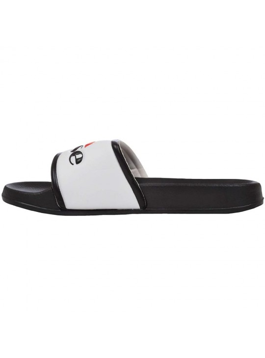 Ellesse Unisex Black White Slides