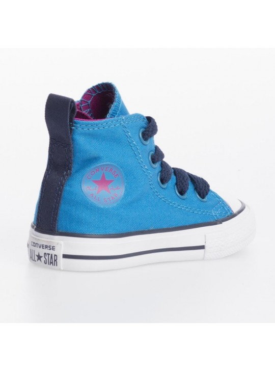 Converse Infant CT Side Zip Hi Blue