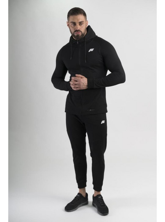 Feed The Gains FTG Men's Fitted Hoody - Black