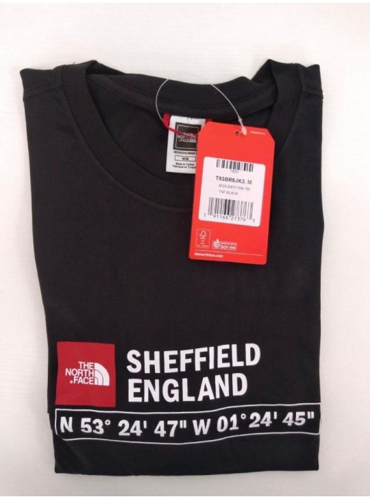 The North Face T-shirt Black Sheffield