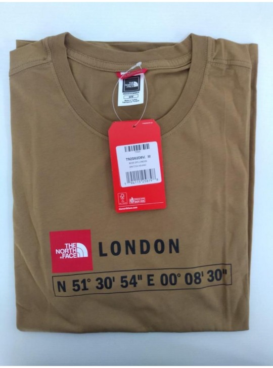 The North Face T-Shirt-British Khaki London