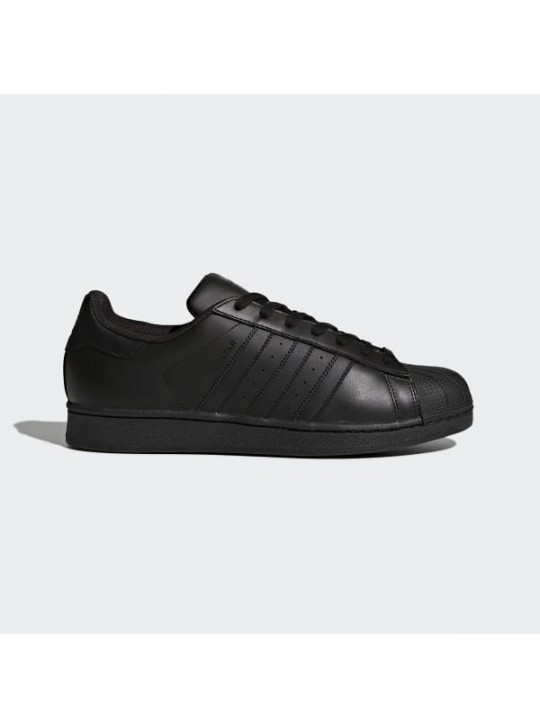 adidas Men's Black Originals Stan Smith Trainers