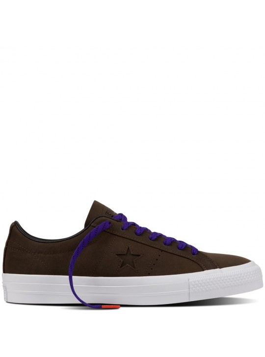 Converse Cons One Star Pro Suede Hot Cocoa