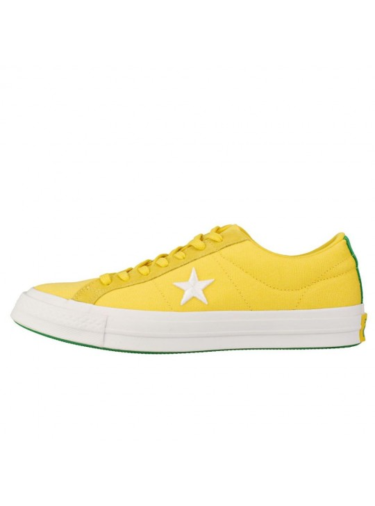 Converse One Star Ox Gold Green