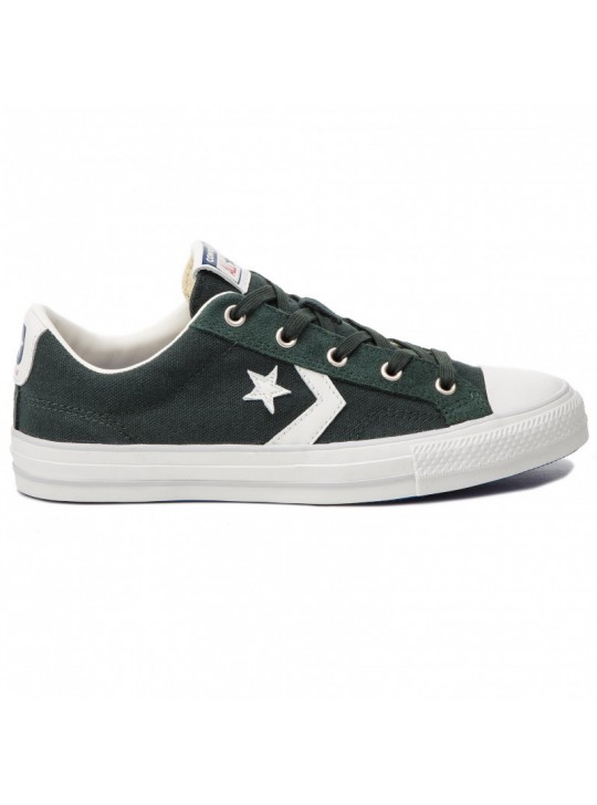 Converse Star Player Ox Green Canvas