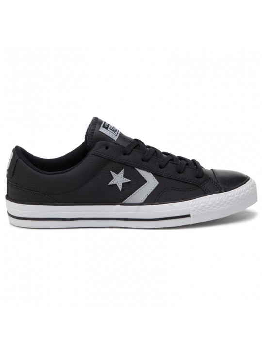Converse Star Player Ox Black Leather