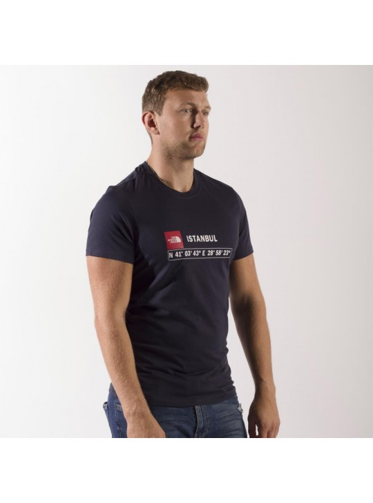 The North Face T-Shirt-Navy-Istanbul