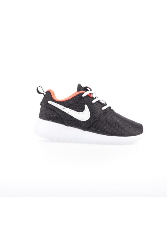 Nike Infant's Black Roshe Run  Print Trainers