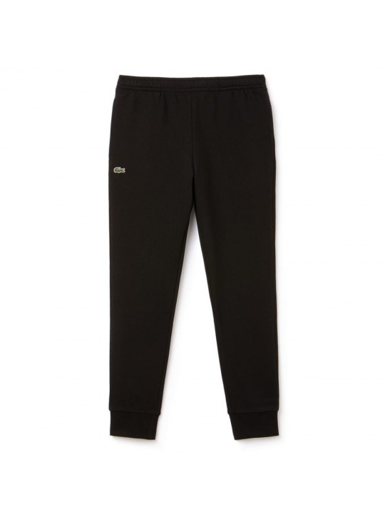 Lacoste Men's Essential Black Drawstring Jogging Bottoms