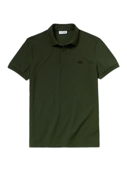 Lacoste PH5522 Colour Croc Green Polo Shirt