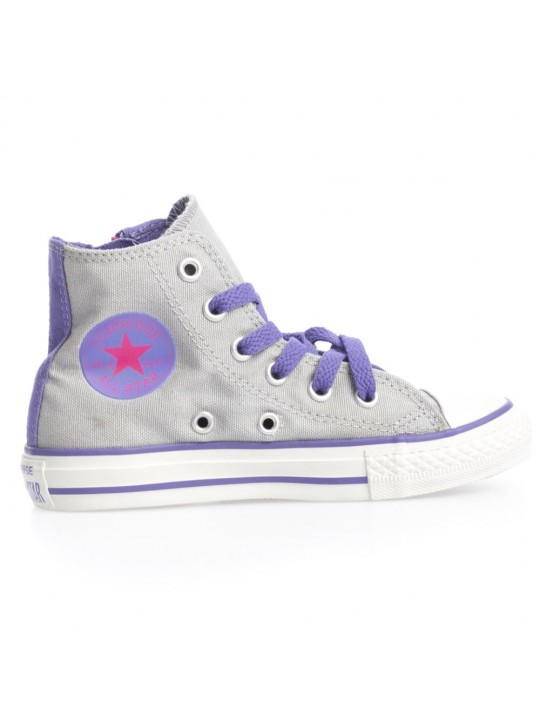 Converse Junior CT Side Zip Hi Charcoal