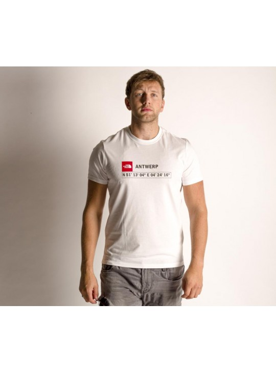 The North Face T-Shirt-White-Antwerp
