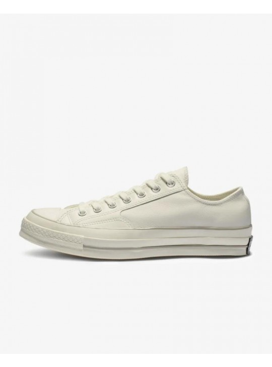 Converse Chuck 70 Luxe Leather Low Top White