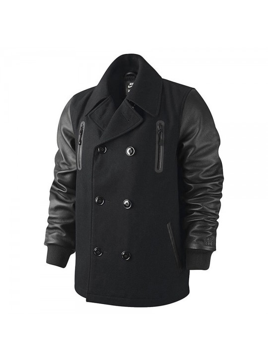 Nike Men's LeBron Varsity Peacoat Destroyer Jacket