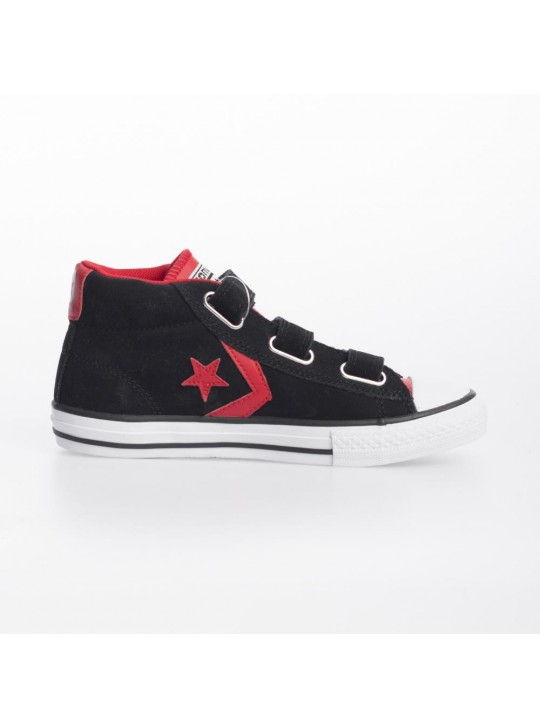Converse Junior Star Plyr MEV 3V Mid Black