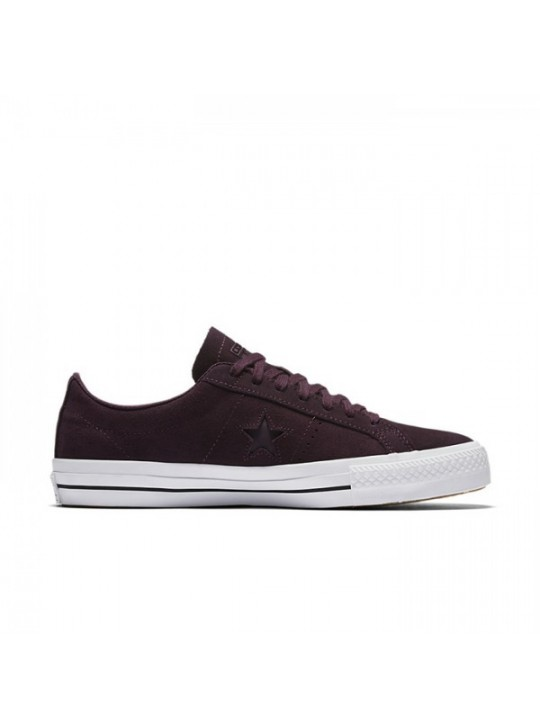Converse CONS One Star Pro Lo Top Burgundy