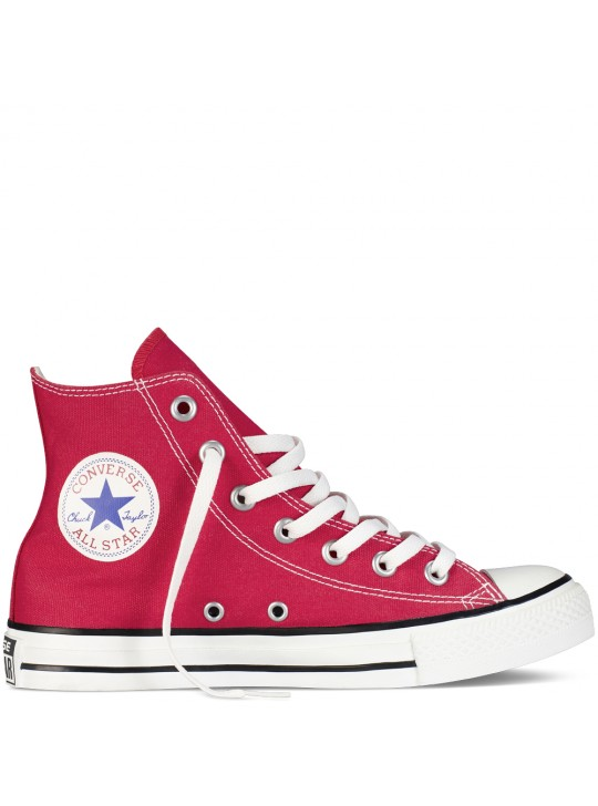 Converse Unisex Chuck Taylor All Star Hi Tops Red  Trainers