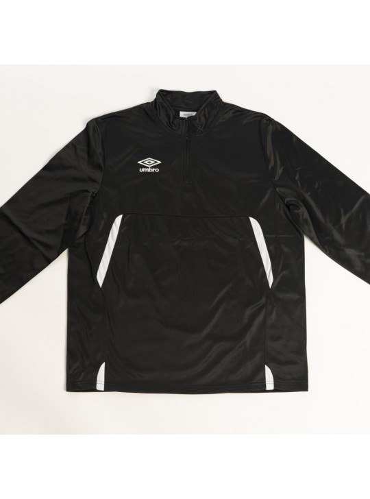umbro Pro-Training 1/4 Zip Black/White