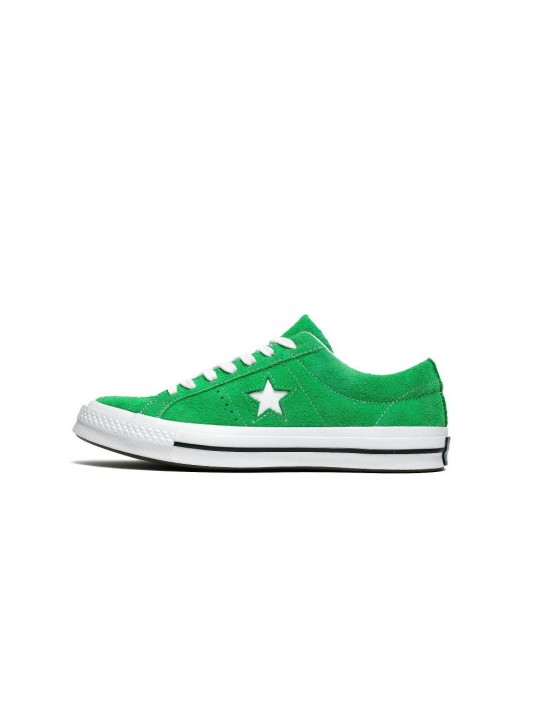 Converse One Star Ox Suede Green