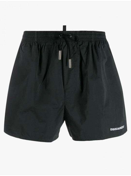 Dsquared2 Mens Icon Swimshorts Black