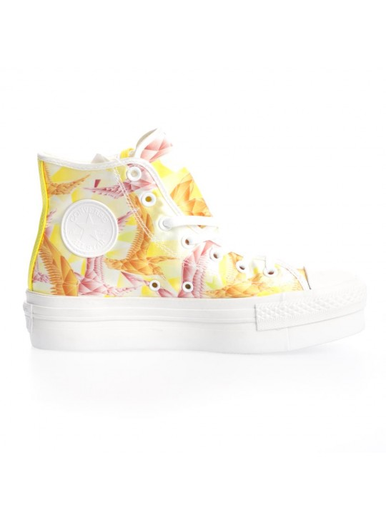 Converse CT Platform Hi Yellow