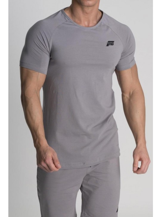 Feed The Gains FTG Men's Muscle T-Shirt - Grey