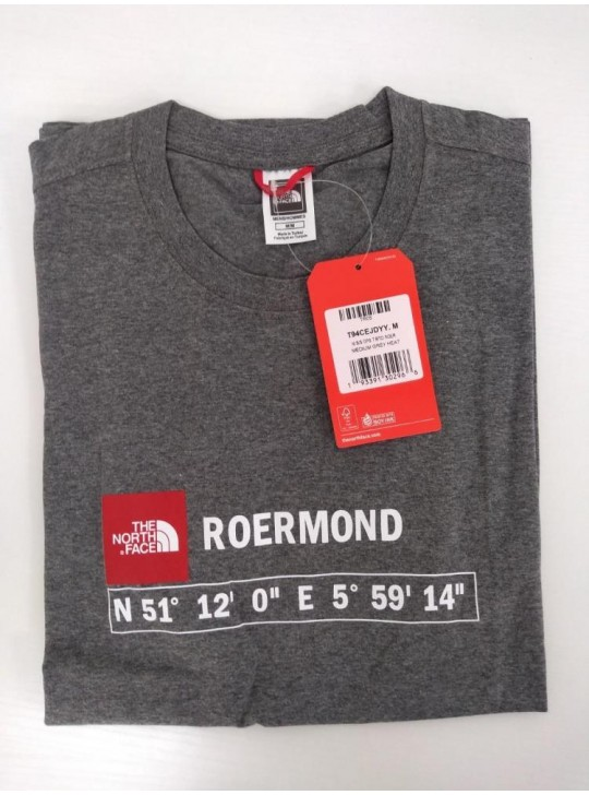The North Face T-shirt Grey Heat Roermond