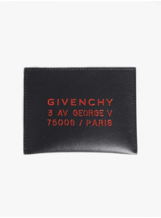 Givenchy Metallic Paris Cardholder