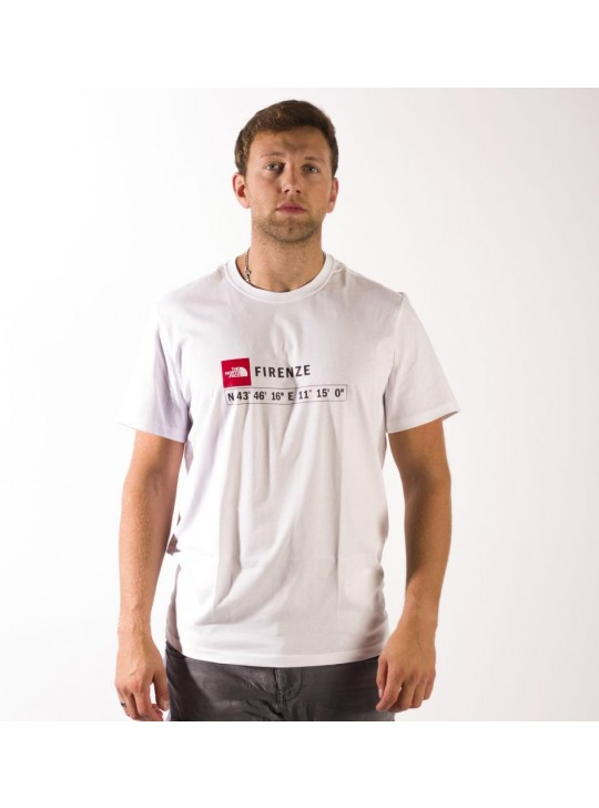 The North Face T-Shirt-White-Firenze