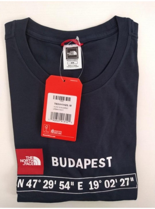 The North Face T-shirt Urban Navy Budapest