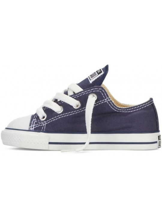 Converse Kids All Star Low Top Blue Trainers