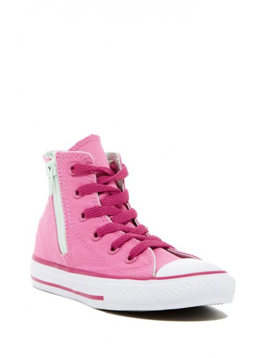 Converse Junior CT Side Zip Hi Pink