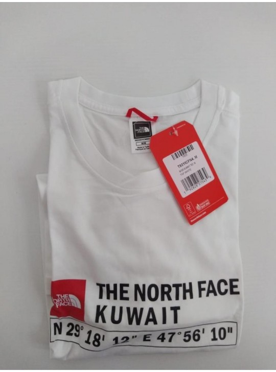The North Face T-shirt White Kuwait