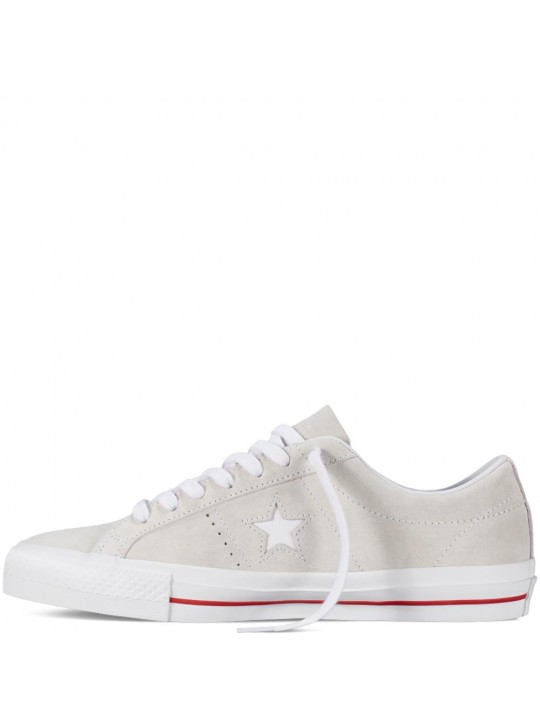 Converse CONS One Star Pro Suede Egret
