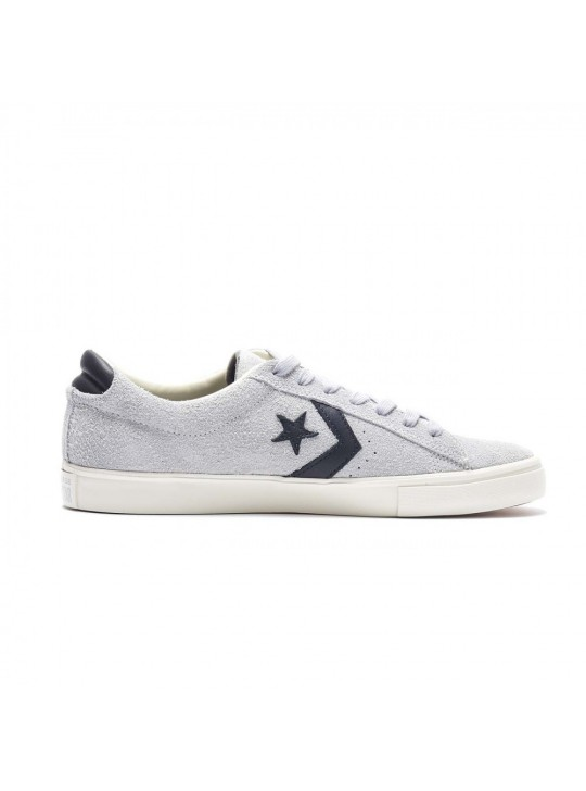 Converse Pro Leather Vulc OX Grey Suede