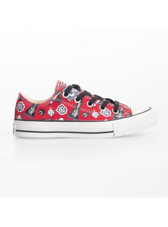 Converse Unisex CT Ox Red