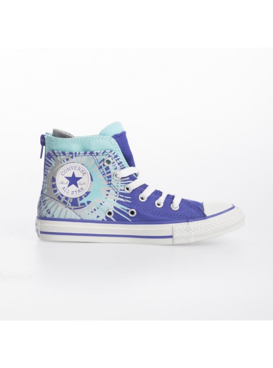 Converse Junior CT Zip Back Hi Purple