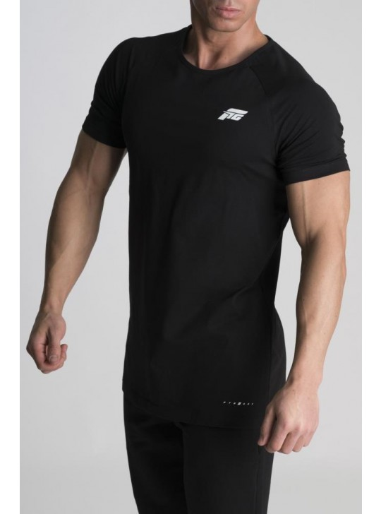 Feed The Gains FTG Men's Muscle T-Shirt - Black