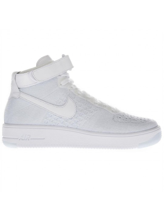 Nike Women's AF1 Flyknit Hi Top Trainers